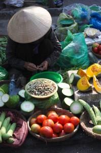 wow al die verse groenten en kruiden!